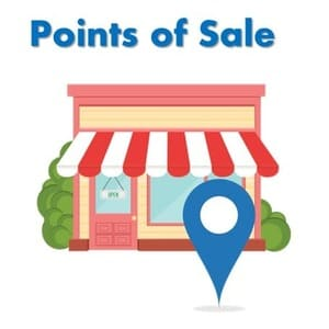 points of sale